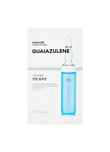 Missha Mascure Calming Solution Sheet Mask Renksiz
